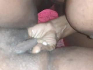 Daddy hitting the spot, Squirts.