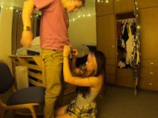 Overwhelming an Innocent Asian Freshman    Sadistic Domination And Rough Fuck