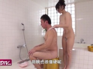 [OURSHDTV][中文字幕]Natural busty sweetie Honami creampied uncensored