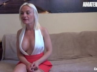 LANOVICE - BUSTY FRENCH MATURE DRILLED HARD IN BOTH HOLES - AMATEUREURO